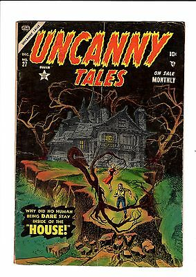 Uncanny Tales #27     VG/FN