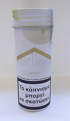 MARLBORO GOLD Rolling Tobacco Limited Greek Edition Unopened Tin  Free Shipping