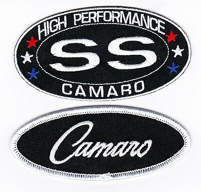 Chevy Ss Camaro Sew/iron On Patch Emblem Badge Embroidered 396 454 383 Stroker
