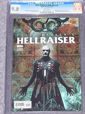 Clive Barker's Hellraiser  #1  CGC 9.8 Highest Graded (Cover A)