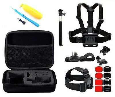 21-in-1 Accessory Bundle Kit for GoPro Hero4 1 2 3 3+ SJ4000 6000 7000 Xiaomi Yi