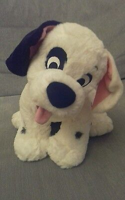 "Disney Store Exclusive Patch ~ 101 Dalmations Plush Puppy. Approx 12"" Tall."