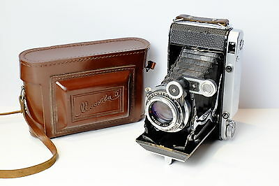 Moskva 5 6X9 / 6X6 120 Film  Folding Rangefinder Bellows Camera Super Ikonta 04