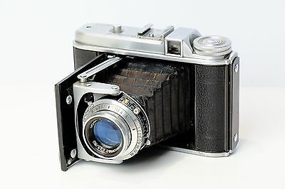 Voigtlander Perkeo Ii 6X6 120 Film  Folding Bellows Camera Skopar Lens.