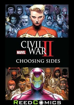 CIVIL WAR II CHOOSING SIDES GRAPHIC NOVEL Official US Edition New Paperback