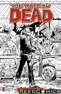 Image Giant Sized Artists Proof Edition Walking Dead #1