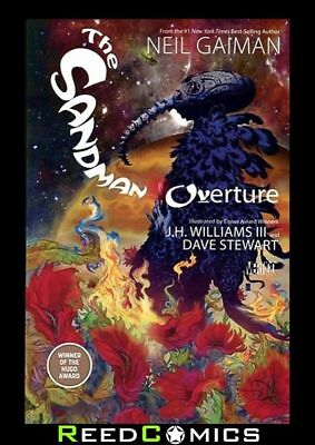 SANDMAN OVERTURE GRAPHIC NOVEL New Paperback Collects Issues #1-6 by Neil Gaiman