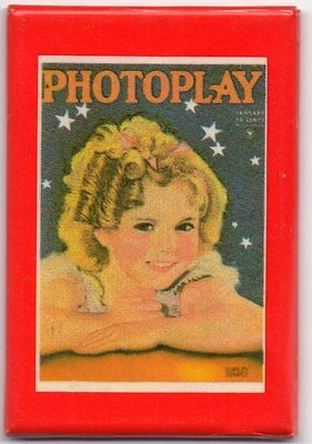 Shirley Temple Photoplay Pocket Mirror