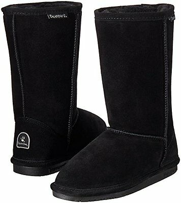 397bdf3346fe Kids Bearpaw Emma Tall Youth Boot 618Y Black II Suede 100% Authentic Brand  New