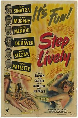 STEP LIVELY Movie POSTER 27x40