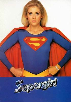 SUPERGIRL Movie POSTER 27x40 B Faye Dunaway Helen Slater Peter O'Toole Mia