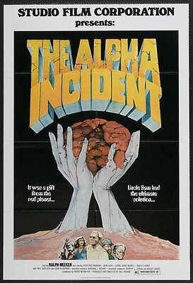 THE ALPHA INCIDENT Movie POSTER 27x40