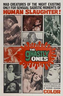 THE GHASTLY ONES Movie POSTER 27x40 B Eileen Hayes Don Williams Carol Vogel