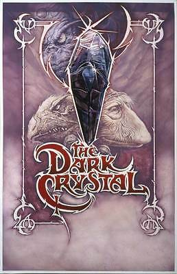THE DARK CRYSTAL Movie POSTER 27x40 E Jim Henson Frank Oz Kathryn Mullen Dave