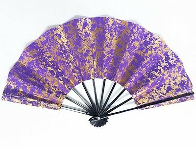 Vintage Used Japanese Odori 'Maiogi' Folding Dance Fan from Kyoto Design: BNovI