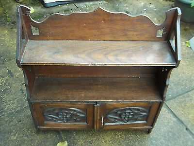 Late Victorian Wall Cabinet