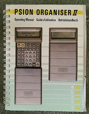 Collectors Item Psion Organiser II/Personal  Digital Assistant