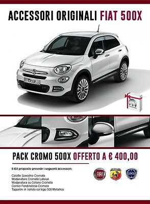 PACK CROMO 500X Originale Linea Accessori FIAT