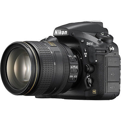 Nikon D810 DSLR Camera with 24-120mm f/4G ED VR Lens!! BRAND NEW!!