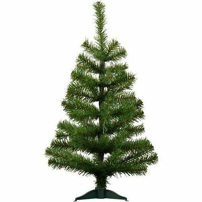 2ft 60cm Artificial Pine Traditional Christmas / Xmas Tree With Stand Home Decor