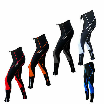 Zimco Pro Super Roubaix Cycling Thermal Tight Padded Winter Bicycle Bike Pant