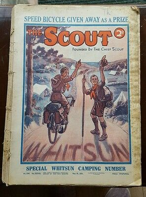 52 Issues of The Scout Magazine, August 1932-July 1933
