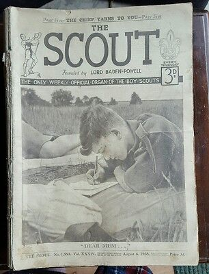 Complete Year of The Scout Magazine, August 1938-July 1939