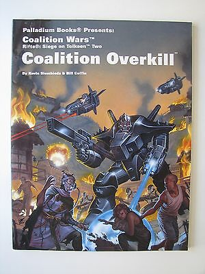 Rifts/Palladium: Siege on Tolkeen, Ch 2 Coalition Overkill by Siembieda & Coffin