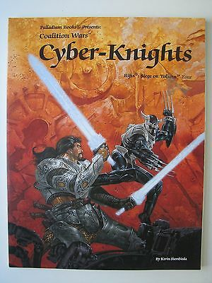 Rifts/Palladium: Siege on Tolkeen, Ch 4 Cyber-Knights by Kevin Siembieda 2000