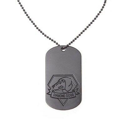 Metal Gear Solid - Diamond Dogs Dogtag Brand New