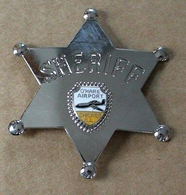 Sheriff Badge - O'hare Airport - Chicago