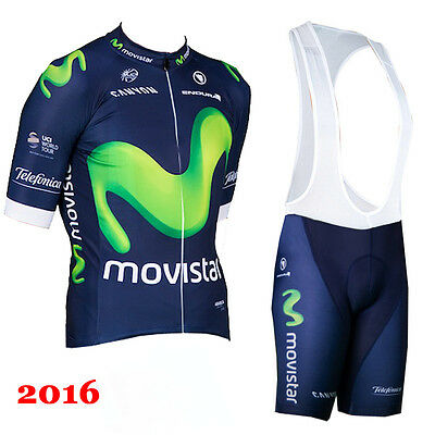 NEW ! 2016 design cycling suit (jersey and bib shorts). Labelled size LARGE