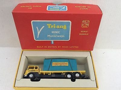 Triang Minic Motorway Bedford Container Lorry