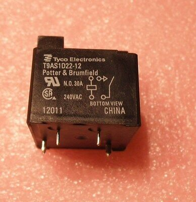 Potter & Brumfield T9AS1D22-12 30A relay  replaces T91P1D22-12