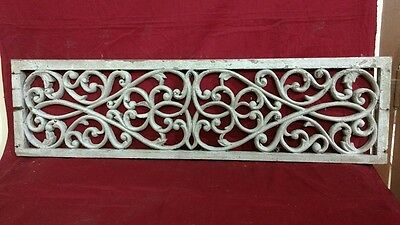 Antique Hand Carved Wall Hanging Wooden Panel Vintage Rare Architectural Plaque