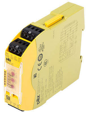 PNOZsigma Configurable Safety Relay, Dual Channel, 24 V dc, 2 Safety