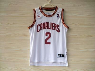 NEW Cleveland Cavaliers Cavs Kyrie Irving #2 Jersey Stitched WHITE S-XXL
