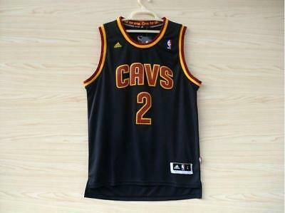 NEW Cleveland Cavaliers Cavs Kyrie Irving #2 Jersey NAVY Stitched S-XXL