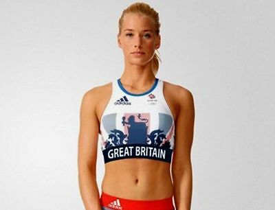 Womens Adidas Team Gb Rio 2016 Crop Top -Bnwt- Size 8,10 Very Rare! Last Few