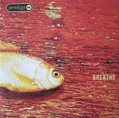 """The Prodigy - Breathe Vinyl 12"""" Aphex Twin Fatboy Slim The Chemical Brothers"""