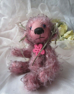 """♫ COLLECTION OURS d'Artiste CREATION """"ptitJuly"""" Pièce Unique Teddy Bear Mohair ♫"""