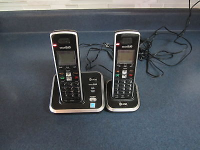 AT&T DECT 6.0 Dual Handset Cordless Digital Telephone Answering System