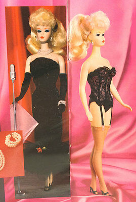 1990 Solo in the Spotlight Porcelain Barbie Doll LE with Lingerie Deboxed