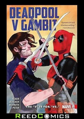 DEADPOOL V GAMBIT THE V IS FOR VS GRAPHIC NOVEL Paperback Collects 5 Part Series