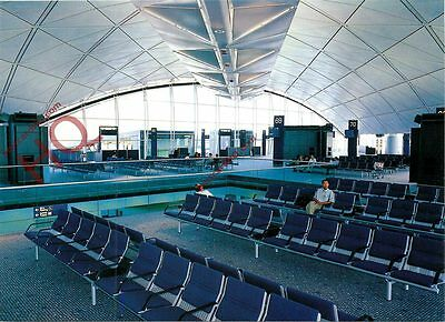 Postcard: Hong Kong Airport, Northwest Concourse