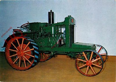 Postcard: SAUNDERSON TRACTOR 1915, BICTON GARDENS COUNTRYSIDE MUSEUM