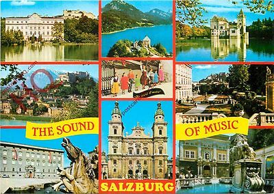 Postcard: Salzburg, The Sound Of Music (Multiview)