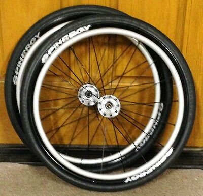 """Spinergy Wheelchair Wheels  - 22"""" x 1""""  FREE SHIPPING"""
