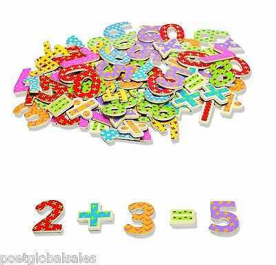 Magnetic Numbers Game 100 Piece Math Numeracy Skills Educational Symbols Learn