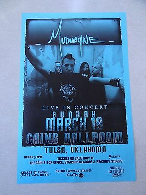 Mudvayne concert Poster flyer 11x17 collectible